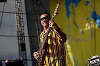 SÃO PAULO, SP 27.07.2019: FESTIVAL BLUES-SP - No palco Thiago Espirito Santo convida o gaitista Maurício Einhorn. Acontece em São Paulo a quinta edição do Festival BB Seguros de Blues e Jazz, na tarde deste sábado, 27, na Ilha Musical do Parque Villa-Lobos, na zona oeste da capital paulista. (Foto: Ale Frata/Código19)