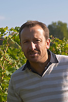 Thierry Germain, owner, winemaker. Domaine des Roches Neuves, Saumur Champigny, Loire, France