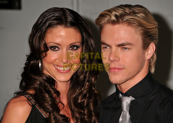 SHANNON ELIZABETH & DEREK HOUGH.The Maxim's Hot 100 List Party held at Barker Hangar in Santa Monica, California, USA..May 13th, 2009 .headshot portrait couple .CAP/ADM/BP.©Byron Purvis/AdMedia/Capital Pictures.