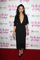HOLLYWOOD, CA - February 12: Jade Tailor, at Premiere Of Vision Films' 'For The Love Of George' at TCL Chinese 6 Theatres in Hollywood, California on February 12, 2018. Credit: Faye Sadou/MediaPunch