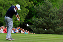 Justin Rose (ENG) in action during the final round of the BMW PGA Championship played on the West Course, Wentworth Club, Virginia Water, Surrey, England 24 - 27 May 2012. (Picture Credit / Phil Inglis)