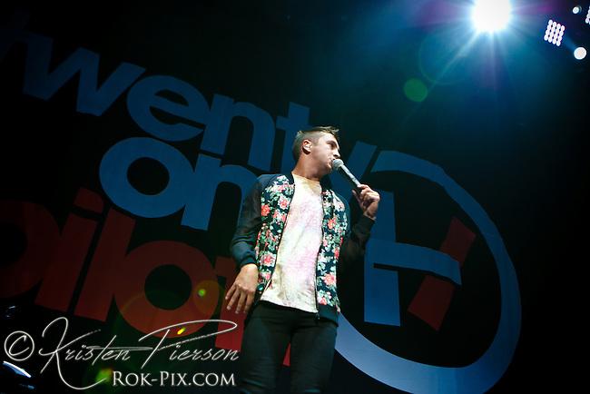 Twenty One Pilots perform at Mohegan Sun Arena September 5, 2013