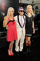 """LOS ANGELES - SEP 5:  Courtney Anne Mitchell, Corey Feldman, Darci Carpenter at the """"It"""" Premiere at TCL Chinese Theater IMAX on September 5, 2017 in Los Angeles, CA"""