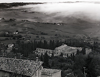 """Fog Under Montepulciano""<br />