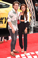 Kem Cetinay &amp; Amber Davies at the premiere of &quot;Logan Lucky&quot; at the VUE West End Cinema, London, UK. <br /> 21 August  2017<br /> Picture: Steve Vas/Featureflash/SilverHub 0208 004 5359 sales@silverhubmedia.com