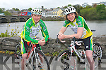 Get your practise in for the Ring of Kerry cycle with the Killorglin Cycling Club's Humpty 100 next weekend with three distances to suit all levels of ability. .L-R Peter Clendemen (assistant secretary of Killorglin Cycling Club) and Michael O'Shea.