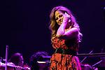 Singer Pastora Soler during concert of Festival Unicos. September 23, 2019. (ALTERPHOTOS/Johana Hernandez)