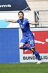 20.06.2020, xmeix, 1.Fussball Bundesliga, TSG 1899 Hoffenheim - 1.FC UNion Berlin, empor. v.l.n.r, <br /> Jubel zum 2:0 fuer Hoffenheim durch Andrej Kramaric (TSG 1899 Hoffenheim) <br /> <br /> <br /> Foto: Sascha Meiser/APF/Pool/PIX-Sportfotos<br /> <br /> Nur für journalistische Zwecke!<br /> Only for editorial use!<br /> Nutzungsbedingungen: http://poolbilder.de/nutzungsvereinbarung.pdf
