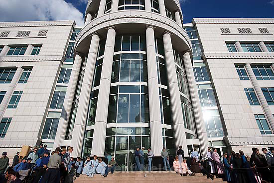 Salt Lake City - A hearing held at the Matheson Courthouse Wednesday, July 29, 2009 to decide on the sale of the Berry Knoll property in the United Effort Plan (UEP) land trust..