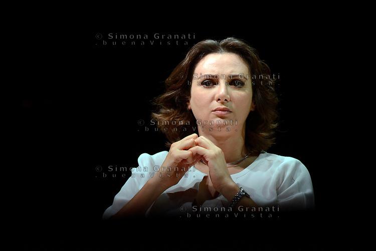 Roma, 18 Giugno 2017<br /> Anna Falcone.<br /> Assemblea al Teatro Brancaccio per costruire un'alleanza popolare per la Democrazia e l'Uguaglianza, una Alternativa a Sinistra del Partito Democratico.