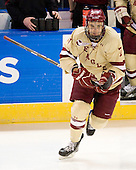 Isaac MacLeod (BC - 7) - The Boston College Eagles defeated the Air Force Academy Falcons 2-0 in their NCAA Northeast Regional semi-final matchup on Saturday, March 24, 2012, at the DCU Center in Worcester, Massachusetts.