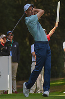 Ross Fisher (ENG) watches his tee shot on 11 during round 2 of the World Golf Championships, Mexico, Club De Golf Chapultepec, Mexico City, Mexico. 3/2/2018.<br /> Picture: Golffile | Ken Murray<br /> <br /> <br /> All photo usage must carry mandatory copyright credit (&copy; Golffile | Ken Murray)