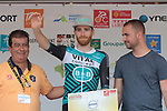 Quentin Pacher (FRA) Vital Concept-B&B Hotels wins the days combativity prize at the end of Stage 4 of the Route d'Occitanie 2019, running 154.8km from Gers - Astarac Arros en Gascogne to Clermont-Pouyguillès, France. 23rd June 2019<br /> Picture: Colin Flockton | Cyclefile<br /> All photos usage must carry mandatory copyright credit (© Cyclefile | Colin Flockton)