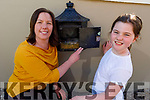 Linda and Clodagh Lenihan  pictured by the bird nest in their post box at their home in Castlemaine on Friday.