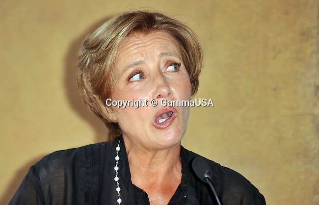 Emma Thompson honored with a star on the Hollywood walk Of Fame In Los Angeles.