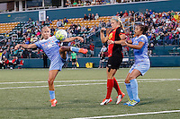 Rochester, NY - Friday July 01, 2016: Chicago Red Stars midfielder Taylor Comeau (7) during a regular season National Women's Soccer League (NWSL) match between the Western New York Flash and the Chicago Red Stars at Rochester Rhinos Stadium.