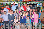 9575-9580.---------.Party Bash.----------.Caroline Brosnan(seated 2nd from the Lt)Shanakil,Tralee,celebrated her 18th last saturday night in the Huddle bar,with many,family&friend's.
