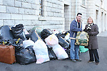 Liam Kelly with Patsy Fay at the Lourdes Church where bags of donations were dropped off for Flood Victims...Photo NEWSFILE/Jenny Matthews.(Photo credit should read Jenny Matthews/NEWSFILE)....This Picture has been sent you under the condtions enclosed by:.Newsfile Ltd..The Studio,.Millmount Abbey,.Drogheda,.Co Meath..Ireland..Tel: +353(0)41-9871240.Fax: +353(0)41-9871260.GSM: +353(0)86-2500958.email: pictures@newsfile.ie.www.newsfile.ie.FTP: 193.120.102.198.