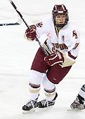 Maggie Taverna (Boston College - 10) - The Providence College Friars and Boston College Eagles tied at 1 on BC's senior night on Saturday, February 21, 2009, at Conte Forum in Chestnut Hill, Massachusetts.