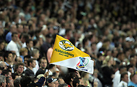 PICTURE BY VAUGHN RIDLEY/SWPIX.COM - Rugby League - Rugby League World Cup 2008 - Australia v New Zealand - Sydney Football Stadium, Sydney, Australia - 26/10/08...Copyright - Simon Wilkinson - 07811267706...Australia Fans, Supporters Flag.