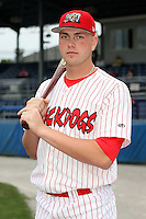 Sept. 5th, 2007:  Jonathan Edwards of the Batavia Muckdogs, Short-Season Class-A affiliate of the St. Louis Cardinals at Dwyer Stadium in Batavia, NY.  Photo by:  Mike Janes/Four Seam Images