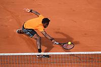 Gael Monfils (Fra)<br /> Tennis Roland Garros 2017 <br /> Foto Antoine Couvercelle / Panoramic / Insidefoto <br /> ITALY ONLY