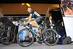 Rafal Majka (POL) Bora-Hansgrohe team on stage at the Team Presentation in Burgplatz Dusseldorf before the 104th edition of the Tour de France 2017, Dusseldorf, Germany. 29th June 2017.<br /> Picture: Eoin Clarke | Cyclefile<br /> <br /> <br /> All photos usage must carry mandatory copyright credit (&copy; Cyclefile | Eoin Clarke)