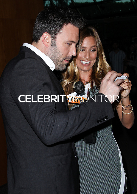 LOS ANGELES, CA - JUNE 13: Ben Affleck and Renee Bargh attend the 22nd Annual UCLA School of Theater, Film and Television Film Festival - Directors Spotlight at Directors Guild Of America on June 13, 2013 in Los Angeles, California. (Photo by Celebrity Monitor)