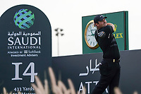 Patrick Reed (USA) on the 14th during Round 2 of the Saudi International at the Royal Greens Golf and Country Club, King Abdullah Economic City, Saudi Arabia. 31/01/2020<br /> Picture: Golffile | Thos Caffrey<br /> <br /> <br /> All photo usage must carry mandatory copyright credit (© Golffile | Thos Caffrey)