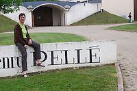 Winery building. Anne Pelle, owner, winemaker. Domaine Henry Pelle, Menetou Salon, Loire, France