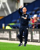 Preston North End manager Alex Neil shouts instructions to his team from the technical area<br /> <br /> Photographer Chris Vaughan/CameraSport<br /> <br /> The EFL Sky Bet Championship - Preston North End v Reading - Saturday 15th September 2018 - Deepdale - Preston<br /> <br /> World Copyright &copy; 2018 CameraSport. All rights reserved. 43 Linden Ave. Countesthorpe. Leicester. England. LE8 5PG - Tel: +44 (0) 116 277 4147 - admin@camerasport.com - www.camerasport.com
