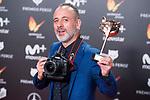 Javier Gutierrez receives the Best Actor Award during Feroz Awards 2018 at Magarinos Complex in Madrid, Spain. January 22, 2018. (ALTERPHOTOS/Borja B.Hojas)
