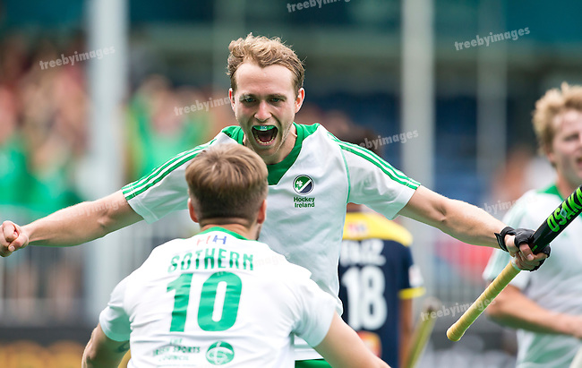05/07/2015<br /> HWL Semi Final Antwerp Belgium 2015<br /> Ireland v Malaysia Men 5-6<br /> Michael Darling<br /> Photo: Grant Treeby