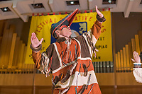 Festival of Native Arts, Aleutian Region School District Unangax Dancers, Native dance and art celebration in Fairbanks, Alaska