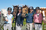 Chloe Murphy Killorglin, Aine OConnor, Milltown, Nicola Griffin, Keel, and Shannon Regan, Killarney, having fun at the Killorglin Pony Show in the Fairfield Killorglin on Sunday..