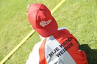 KAATSEN: WEIDUM: 23-08-2016, Kaatsen Dames PC, kaatsblokjelegger, ©foto Martin de Jong
