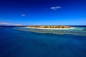 Ilot Noé, lagon Sud de la Nouvelle-Calédonie. Zone classée au Patrimoine Mondial de l'Humanité (UNESCO)