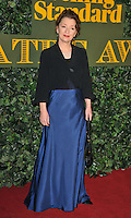 Lesley Manville at the London Evening Standard Theatre Awards 2016, The Old Vic, The Cut, London, England, UK, on Sunday 13 November 2016. <br /> CAP/CAN<br /> &copy;CAN/Capital Pictures /MediaPunch ***NORTH AND SOUTH AMERICAS ONLY***