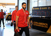 Philadelphia, PA - Tuesday June 14, 2016: Chile prior to a Copa America Centenario Group D match between Chile (CHI) and Panama (PAN) at Lincoln Financial Field.