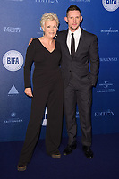 Dame Julie Walters and Jamie Bell<br /> arriving for the British Independent Film Awards 2017 at Old Billingsgate, London<br /> <br /> <br /> &copy;Ash Knotek  D3359  10/12/2017
