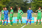 Mizuho Sakaguchi (Beleza), <br /> JULY 12, 2015 - Football / Soccer : <br /> 2015 Plenus Nadeshiko League Division 1 <br /> between NTV Beleza 1-0 AS Elfen Saitama <br /> at Hitachinaka Stadium, Ibaraki, Japan. <br /> (Photo by YUTAKA/AFLO SPORT)