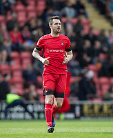 Michael Collins of Leyton Orient during the Sky Bet League 2 match between Leyton Orient and Wycombe Wanderers at the Matchroom Stadium, London, England on 1 April 2017. Photo by Andy Rowland.