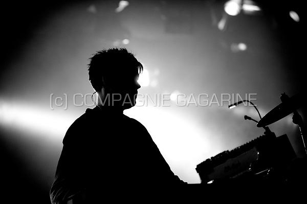 Concert of the Danish electronic music producer Trentemøller at the Leffingeleuren festival, in Leffinge (Belgium, 19/09/2014)