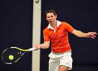 Hilversum, The Netherlands, March 12, 2016,  Tulip Tennis Center, NOVK, Dennis Rijerse (NED)<br /> Photo: Tennisimages/Henk Koster