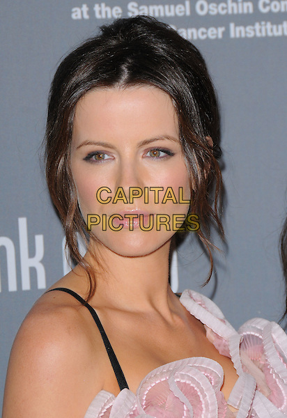 KATE BECKINSALE .Attends The 4th Annual Pink Party held at Santa Monica Airport Hanger 8 in Santa Monica, California, USA, .September 13th 2008.                                                                     .portrait headshot hair up .CAP/DVS.©Debbie VanStory/Capital Pictures