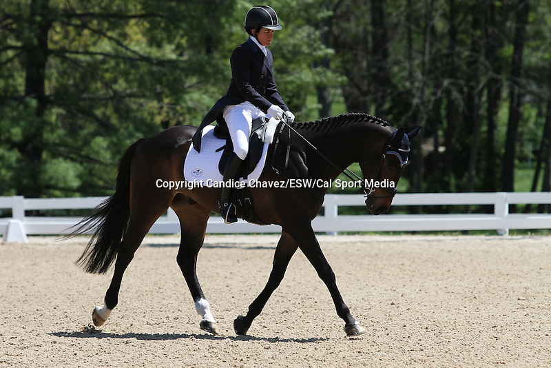 April 23, 2015:  #30 Eveready and Barbara Crabo competing on the first day of Dressage at the Rolex Three Day Event at the Kentucky Horse Park in Lexington, KY.  Candice Chavez/ESW/CSM
