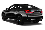 2018 BMW X6M Black Fire 5 Door SUV angular rear