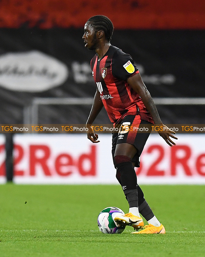 Jordon Zemura of Bournemouth during AFC Bournemouth vs Crystal Palace, Carabao Cup Football at the Vitality Stadium on 15th September 2020