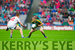 Stephen O'Brien, Kerry in Action Against  Tyrone in the All Ireland Semi Final at Croke Park on Sunday.