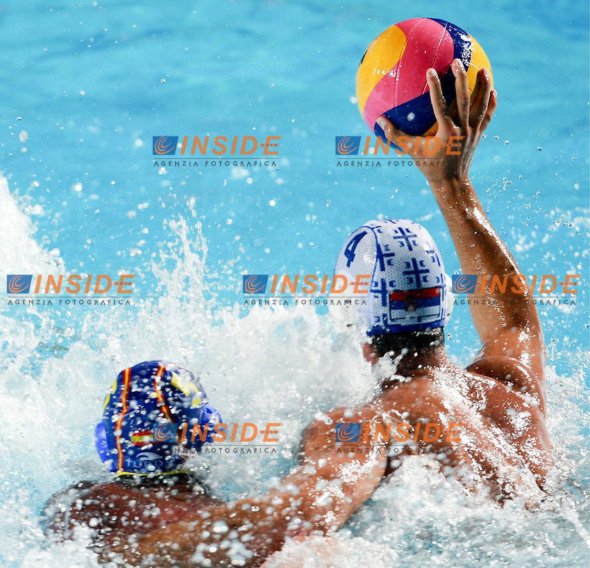 Roma 1st AUGUST 2009 - 13th Fina World Championships ..From 17th to 2nd August 2009..SERBIA-SPAIN 14-13..SERBIA GOLD MEDAL..SPAIN SILVER MEDAL....SERBIA..1 SORO Slobodan ..2 AVRAMOVIC Marko ..3 GOCIC Zivko..4 UDOVICIC Vanja..5 GAK Slavko ..6 PIJETLOVIC Dusko ..7 NIKIC Slobodan ..8 ALEKSIC Milan ..9 RADJEN Nikola ..10 FILIPOVIC Filip ..11 PRLAINOVIC Andrija ..12 MITROVIC Stefan ..13 PIJETLOVIC Gojko......SPAIN ....1 AGUILAR Inaki ..2 GARCIA Mario ..3 MARTIN David ..4 MALLARACH Blai ..5 MOLINA Guillermo..6 MINGUELL Marc ..7 GALLEGO Ivan ..8 ESPANOL Albert ..9 VALLES Xavier ..10 PERRONE Felipe ..11 PEREZ Ivan ..12 GARCIA Xavier ..13 LOPEZ Daniel..Roma2009.com/InsideFoto/SeaSee.com